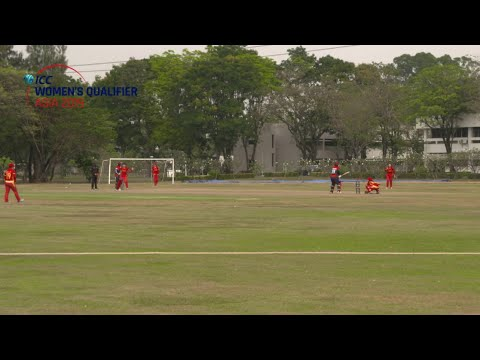 ICC Women's Qualifier - Asia 2019 - Kuwait v China highlights