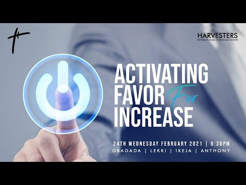 Activating Favor For Increase   Pst Mayowa   24th February  2021