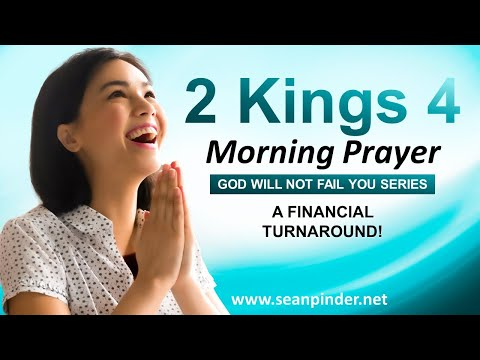 A Financial TURNAROUND - Morning Prayer