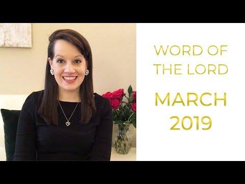 March 2019 Prophetic Word