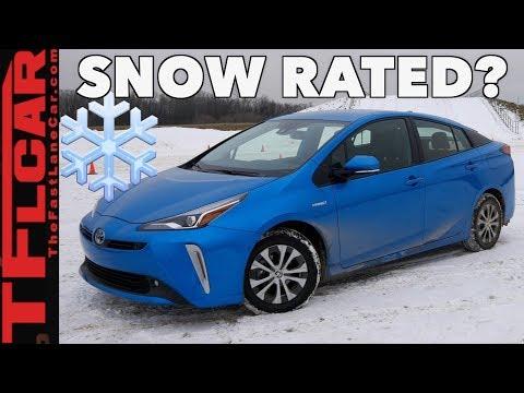 2019 Toyota Prius AWD vs Wisconsin Blizzard - Sort of... - UC6S0jAvcapqJ48ZzLfva12g