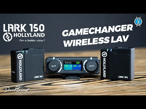 Gamechanger TINY Wireless Lav Mic // Lark 150 by Hollyland