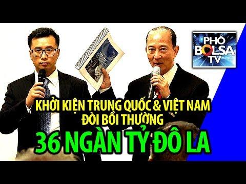 Ông Đào Minh Quân: Khởi kiện TQ & VN, đòi bồi thường 36 ngàn tỷ đô la