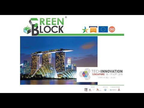 GREEN BLOCK at Tech Innovation Singapore 2017