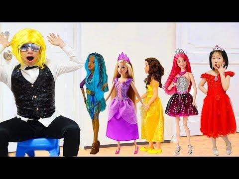 보람이와 공주인형 파티놀이 Boram and Princess doll Dress Up and Make Up Toys - UCU2zNeYhf9pi_wSqFbYE96w