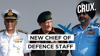 New Defence Chief To Lead Army, Navy & IAF