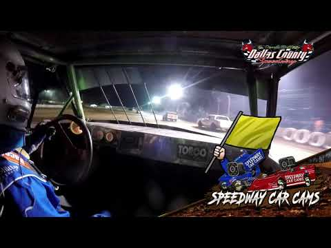 #26 Allen Carney - Pure Stock - 6-18-2021 Dallas County Speedway - In Car Camera - dirt track racing video image