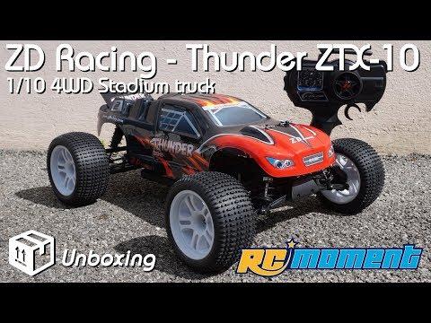 • ZD Racing -  Thunder ZTX 10 - 1/10 Stadium truck - Unboxing • - UCBpWs8cay7kTcjilt7dzsHA