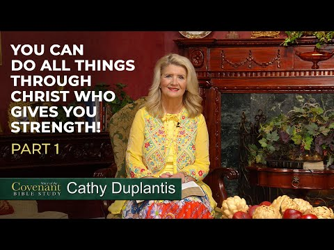 Voice of the Covenant Bible Study Part 13  Cathy Duplantis