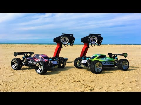 WLToys A959-B vs WLToys A959 Summer Beach Run! High Speed RC Cars In-Depth Comparison Part 2! - UCHcR-O2hVrKGKRYvN1KUjOg