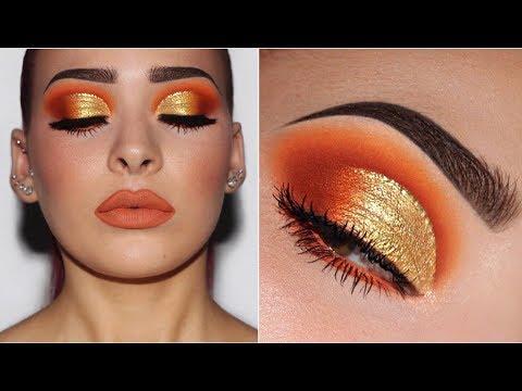 Orange & Yellow Gold | Makeup Tutorial - UCIUU3PJrzLBocsGPkFtQzFA
