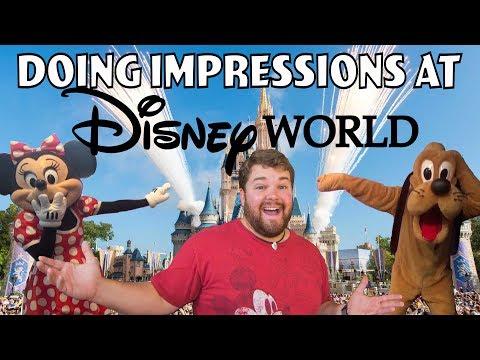 Doing Impressions at Disney World - UCiNeUoUWfBLC8mJuMzI6hvw