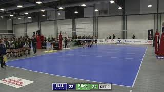Volleyball Canada National Championship in Regina Div 3 Tier 4 Quarter Final Bedford Blizzards vs El