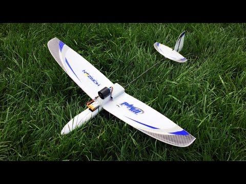 Eflite UMX Whipit EDF-Powered Glider Mk. I Flight - Broken Silence - UCjf_8s4azLDpmDwH8CFprcA