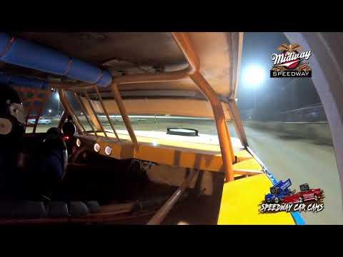 #21d Dalton Phillips - Usra Stock Car - 9-24-2021 Midway Speedway - In Car Camera - dirt track racing video image