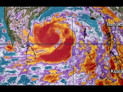 Typhoon Amphan 40 Foot Storm Surge Bay Of Bengal