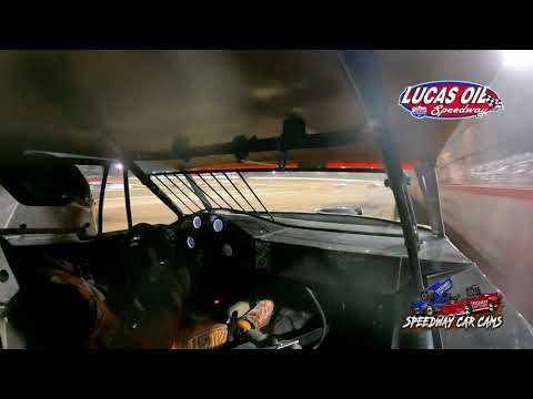 #54 David Hendrix - Usra Stock Car - 10-9-2021 Lucas Oil Speedway - In Car Camera - dirt track racing video image