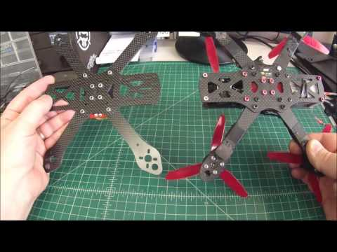 Comparison of the Martian II VS Alien / Rotor Riot RR5 Frame - UCGqO79grPPEEyHGhEQQzYrw