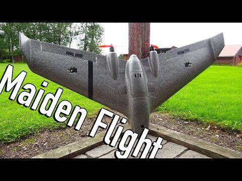 Reptile Harrier S1100 Maiden Flight! - UC2c9N7iDxa-4D-b9T7avd7g