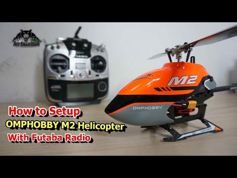 How to Setup OMPHOBBY M2 3D RC Helicopter with Futaba Radios - UCsFctXdFnbeoKpLefdEloEQ