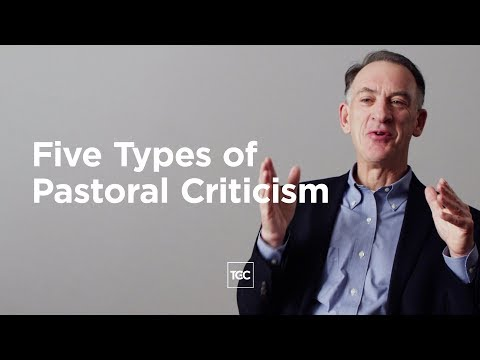 Five Types of Pastoral Criticism