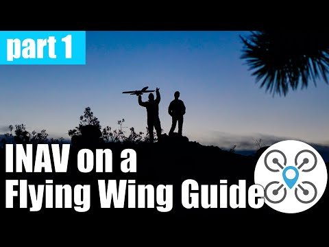How to setup INAV on a flying wing - video tutorial - UCmX3OXToMBKTppgRskDzpsw