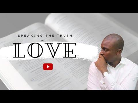 SCHOOL OF TYRANNUS  STUDY OF EPHESIANS: SPEAKING THE TRUTH IN LOVE  DAVID OYEDEPO JNR