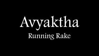 Running rake  - sridhar , Acoustic