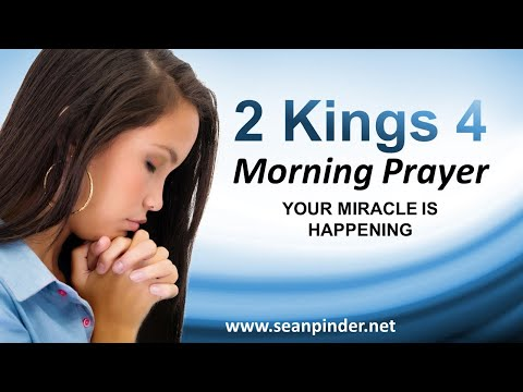 Your MIRACLE is HAPPENING - Morning Prayer