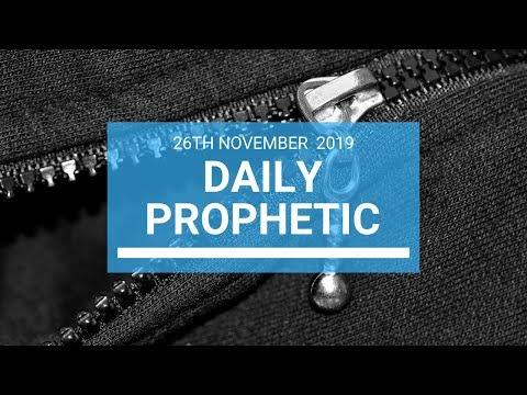 Daily Prophetic 26 November Word 1