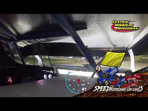 #7tw Tyler Wood - B Modified - 7-4-2021 Central Missouri Speedway - In Car Camera - dirt track racing video image