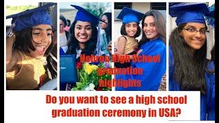 High School Graduation Ceremony in USA | High School Commencement | Hebron Carrollton Graduation '19