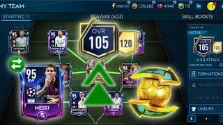 How to get 105 team cheap & easy! Insane team upgrade! Tips to upgrade your team in FIFA Mobile 19!!
