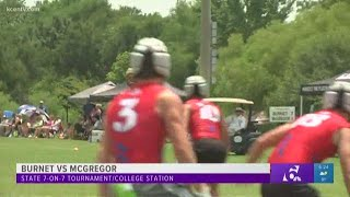Battle of the Bulldogs: Burnet vs. McGregor at State 7-on-7 Tourney