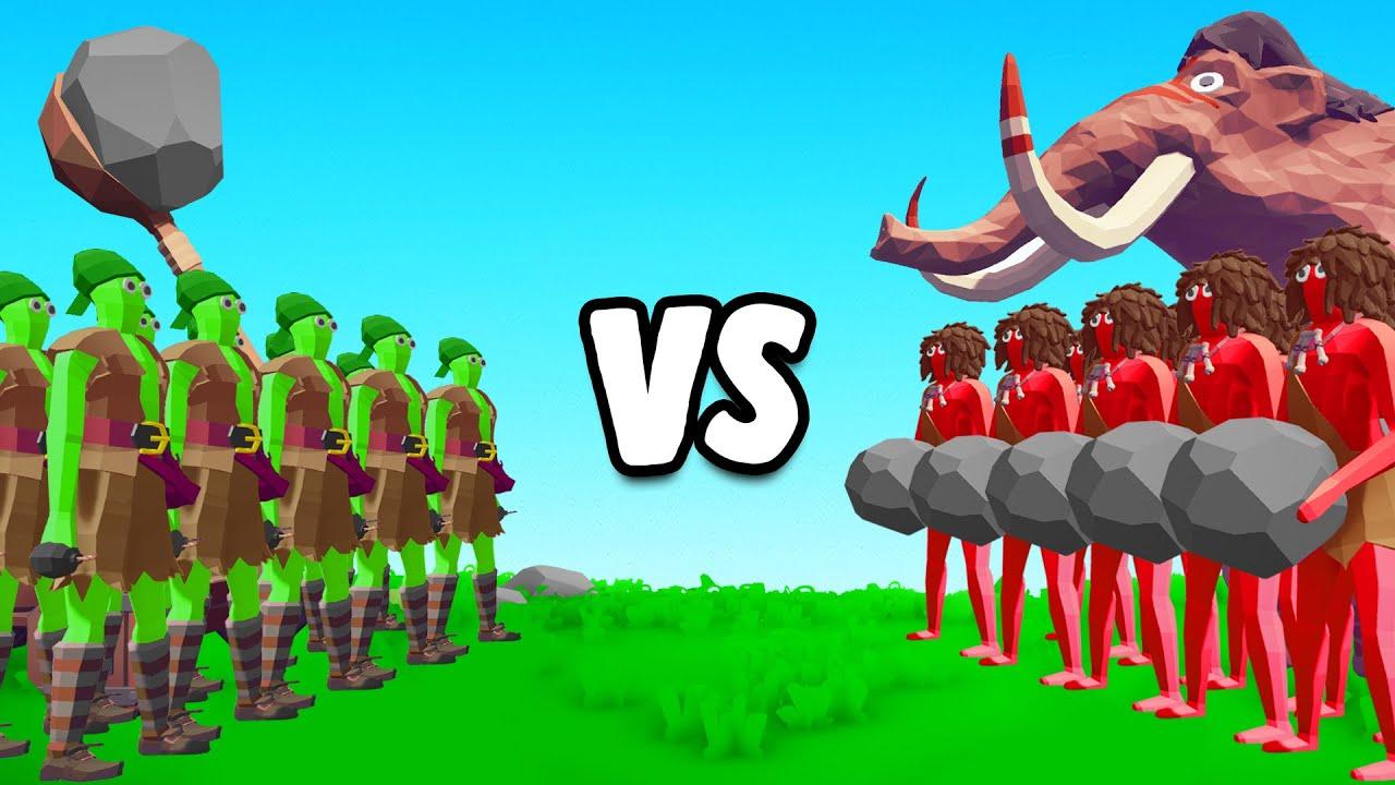 Slogo vs Jelly in Totally Accurate Battle Simulator!