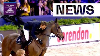 The most extraordinary Jump-Off this season in Amsterdam! | Longines FEI Jumping World Cup™