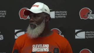 RB Coach Stump Mitchell on Nick Chubb's Potential and D'Ernest Johnson - MS&LL 8/22/19