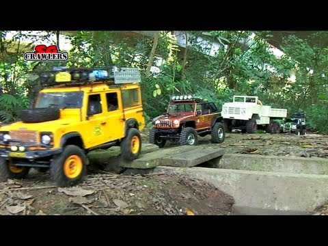 13 RC Trucks scale offroad 4x4 Adventures RC4WD Timberwolf D110 M923 Jeep Wrangler honcho dingo - UCfrs2WW2Qb0bvlD2RmKKsyw