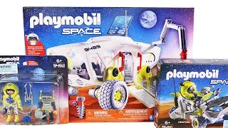 PlayMobil Mars Research Vehicle, Rover and Astronaut Robot Pack Unboxing Toy Review Speed Build