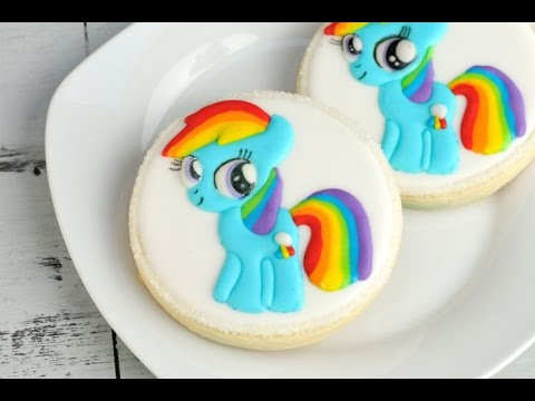 rainbow dash cake template - my little pony cookies imagui