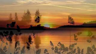 Sunset at Lake Saimaa - Finland (HD1080p)
