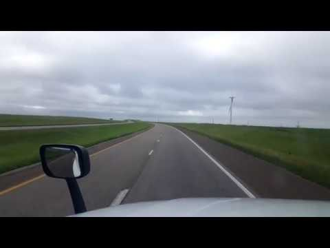 BigRigTravels LIVE! Interstate 70 Eastbound between Russell and Salina, Kansas - UC6LugwoDFQ2xlZVNQRCec_Q
