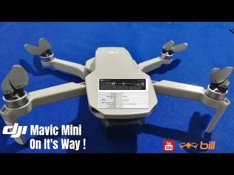 DJI Mavic Mini On It's Way !