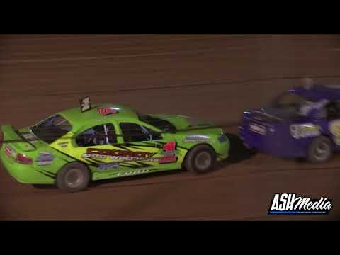 Modified Sedans: Noakes, Raymont and Pammenter Battle - Albany Speedway - dirt track racing video image