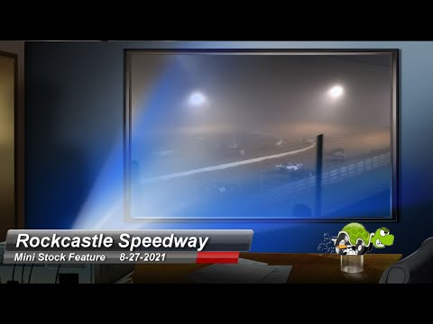 Rockcastle Speedway - Mini Stock Feature - 8/27/2021 - dirt track racing video image
