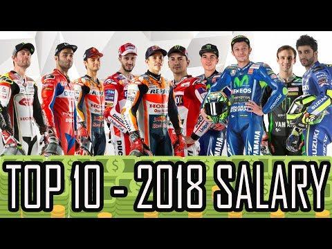 TOP 10 - 2018 MOTO GP RIDERS´S SALARIES* - HD - UCJUoyQN8Ffz9XHrd6zBUcsQ