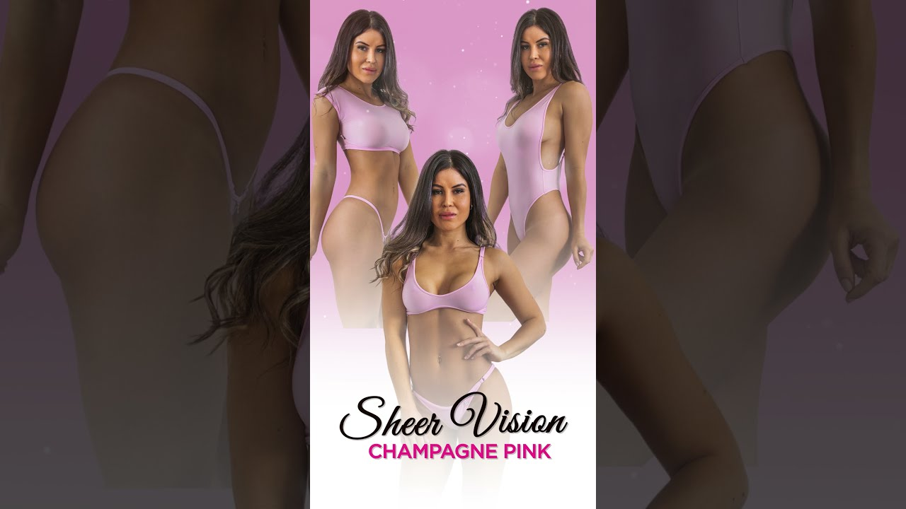 Sheer Vision: NEW in Champagne Pink #shots