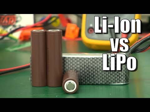 Lithium-Ion (18650 cells) versus Lipo -- which is best? - UCahqHsTaADV8MMmj2D5i1Vw