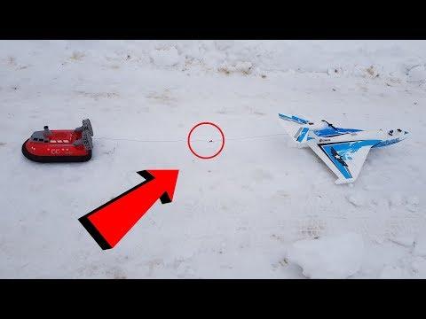 САМОЛЕТ против Судна на ВОЗДУШНОЙ ПОДУШКЕ ... RC plane vs Hovercraft - UCX2-frpuBe3e99K7lDQxT7Q