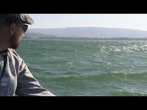 Crazy Waves on The Sea of Galilee (LIVE)